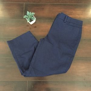 🍂Talbots Perfect Skimmer Navy Blue Pants